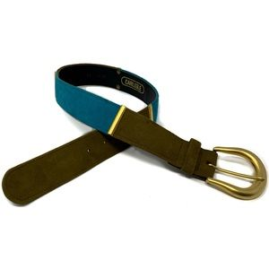 Vintage Carlisle Belt Colorblock Gold XS